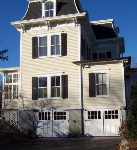 115. A Victorian Home (Built in 1875) Showcases Craftsman Traditional (CTL06) Doors in Mystic, CT