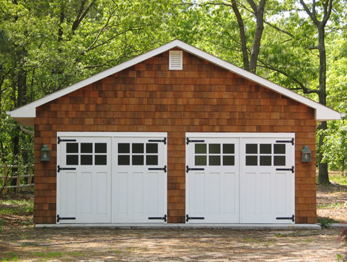 91. Craftsman Traditional Carriage Doors (CTL05) and Entry (ECTL04) in Toms River, NJ