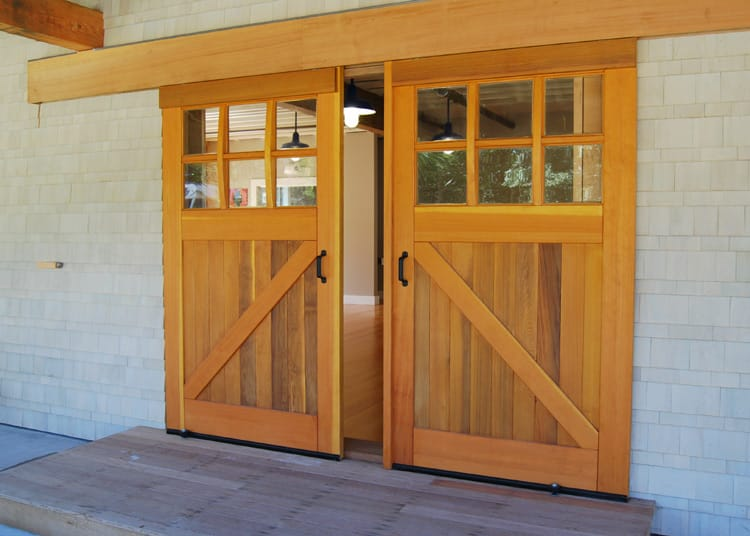 17. Classic Z Brace Sliding Barn Doors (CL05) at Cape Cod Sea Camps in Brewser, MA
