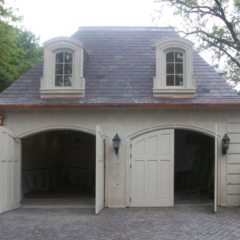 75. Arched Carriage Doors (CTL14-A) in Hurst, TX