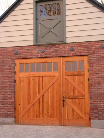 """70. Large Z Brace Barn Doors at the Woodland Park Zoo (10'6"""" wide x 9' tall) in Seattle, WA"""