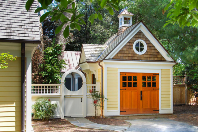 2. Colonial Carriage Doors in Potomac, Maryland