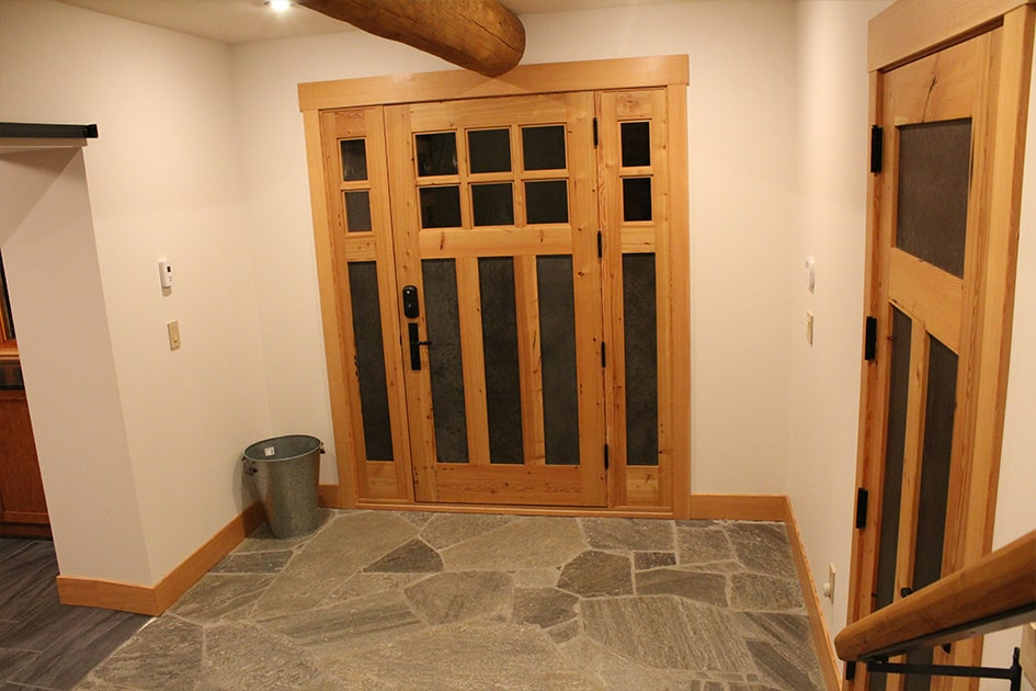 """30. """"We used several of your reclaimed Douglas fir doors. We love the doors! They feel like they have always belonged with the house."""" - Greg Cowan, Mission, BC"""