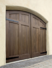 34. Arched Carriage Doors (CL15HV2-A, Mahogany) in Kansas City, Missouri (MO)