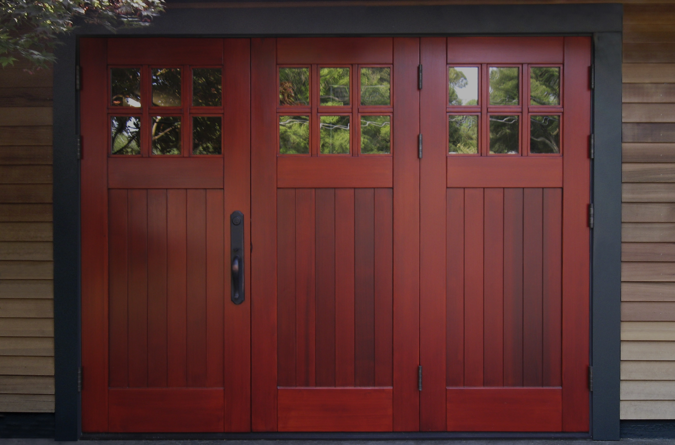 Folding and Dutch Gallery - Real Carriage Door & Sliding Hardware