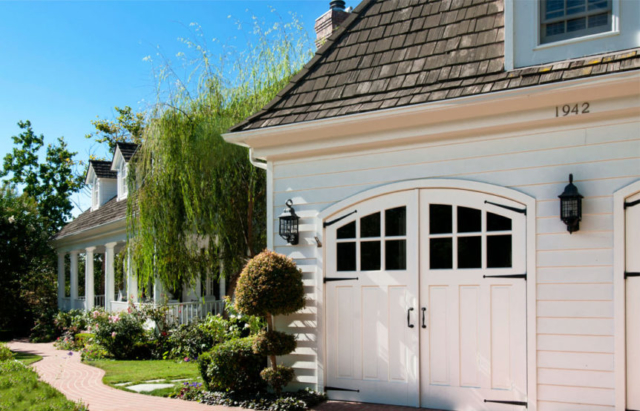 26. Arched Carriage Doors (CTL05-A) in Santa Anna, CA