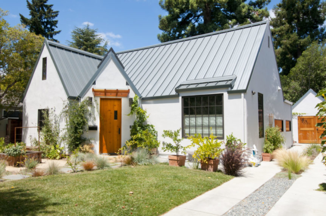20. Classic Carriage Doors and Plank Entry Door in Palo Alto, California (CA)