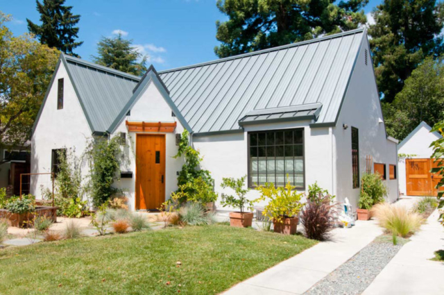 22. Classic Carriage Doors and Plank Entry Door in Palo Alto, California (CA)