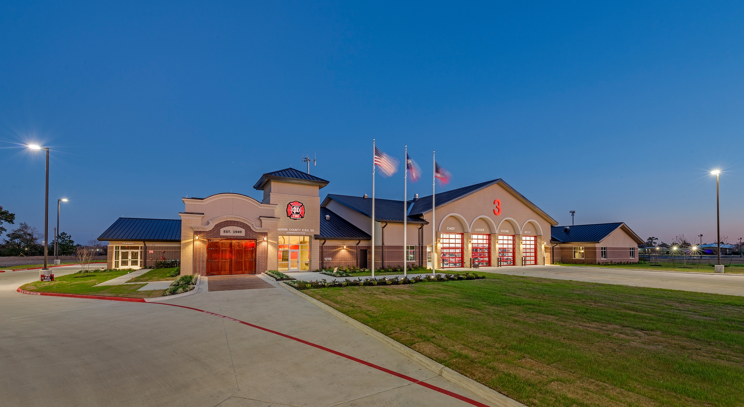 118. Channelview Fire and Administration Building