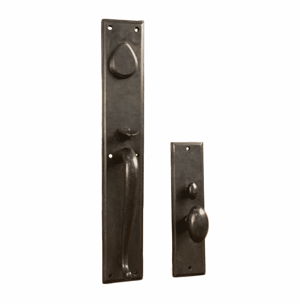 Hardware for carriage doors real carriage door sliding for Real carriage hardware