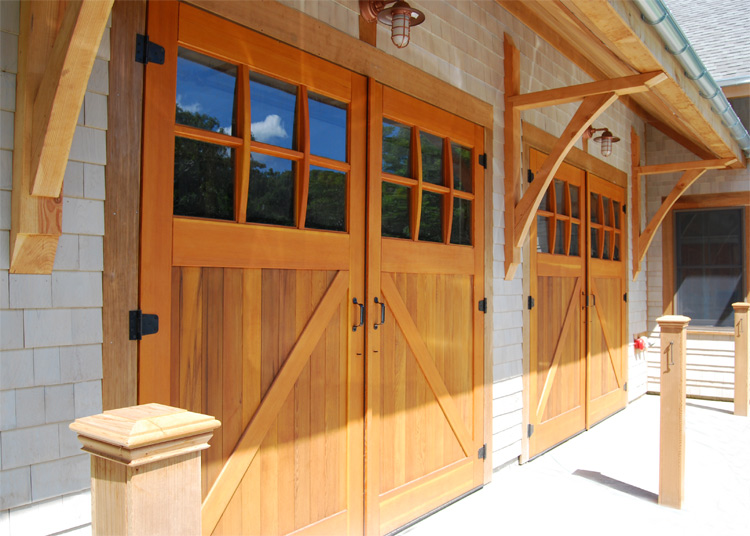 Charmant Classic Z Brace Carriage Doors (CL05) At Cape Cod Sea Camps In Brewser, MA