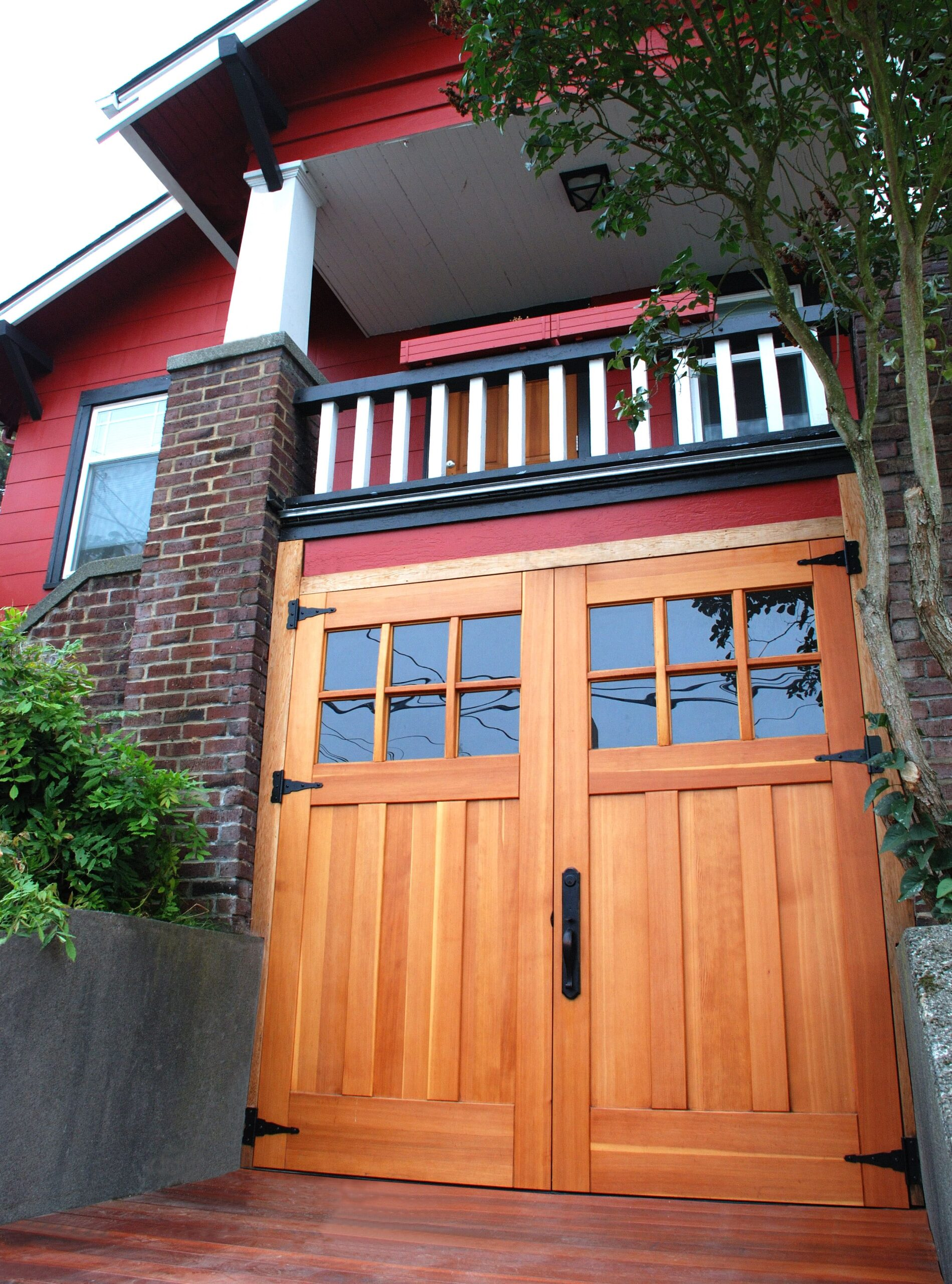 73. Craftsman Traditional (CTL05) in Seattle WA & Carriage Gallery - Carriage Doors - Real Carriage Door u0026 Sliding ...