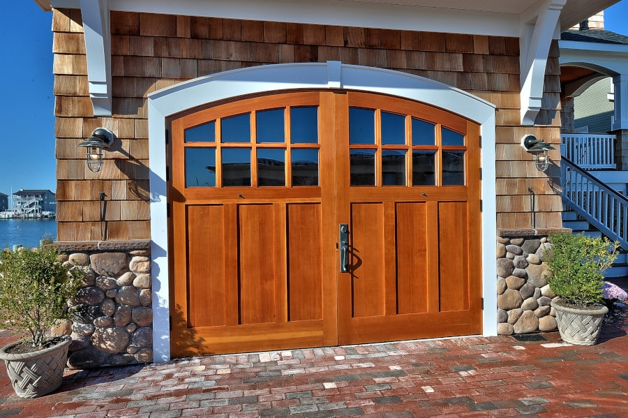 112. Real Carriage Doors on a Beachfront Property