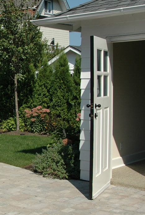 4. Our Craftsman Traditional Entry Door (ECTL04) in White