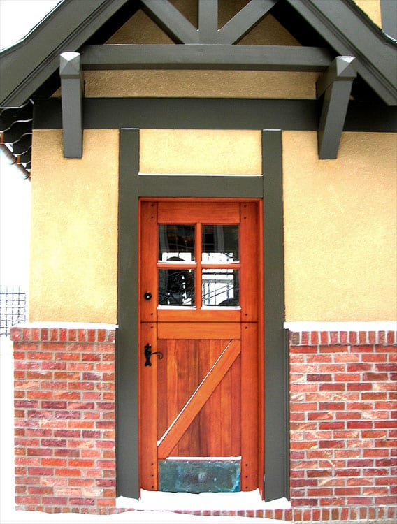 29. Dutch Door
