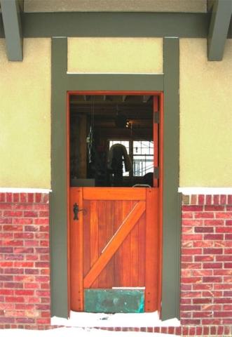 28. Opened Dutch Door
