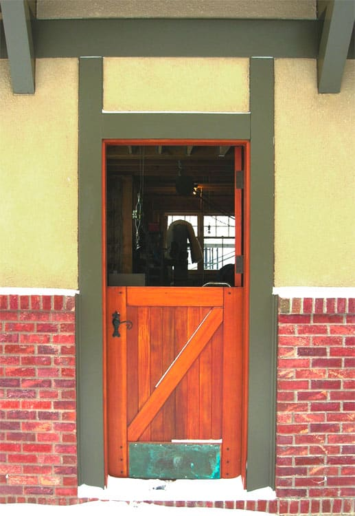 28. Opened Dutch Door