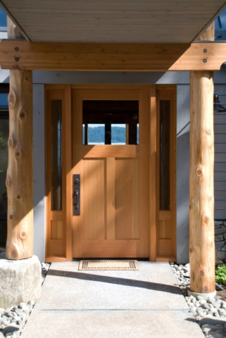 15. Custom Entry Door for a Beach House