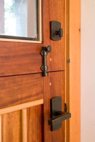 31. Closeup of Dutch Door and Hardware