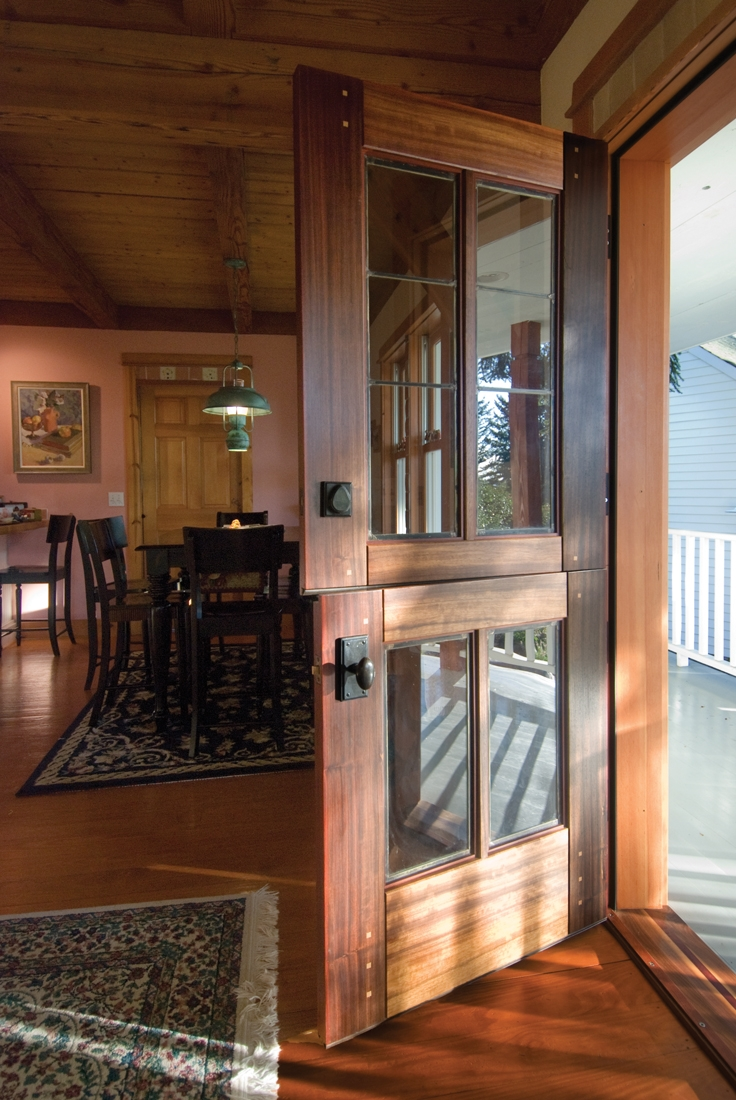 Dutch Door and Hardware