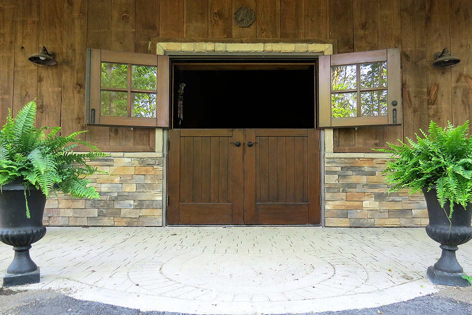 30. Double Dutch Door