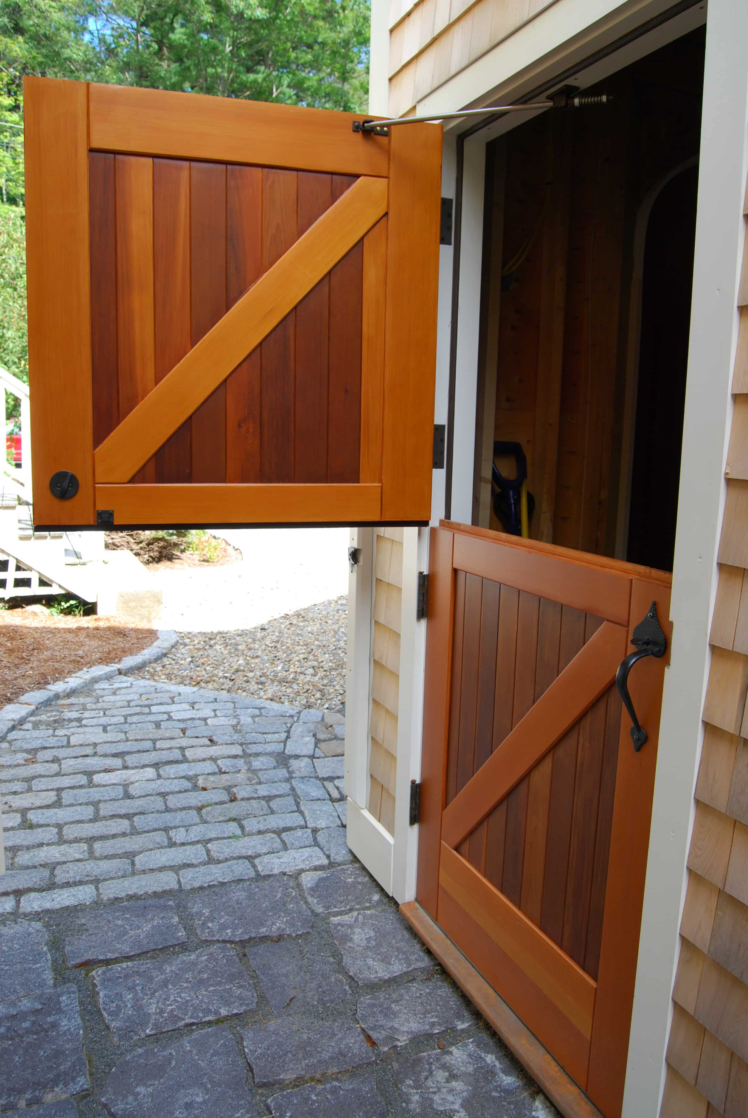 32. Opened Dutch Door
