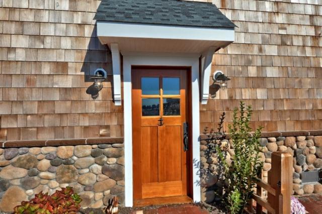 23. Custom Entry Door
