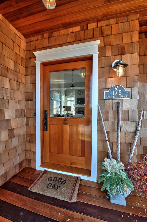 22. Custom Entry Door
