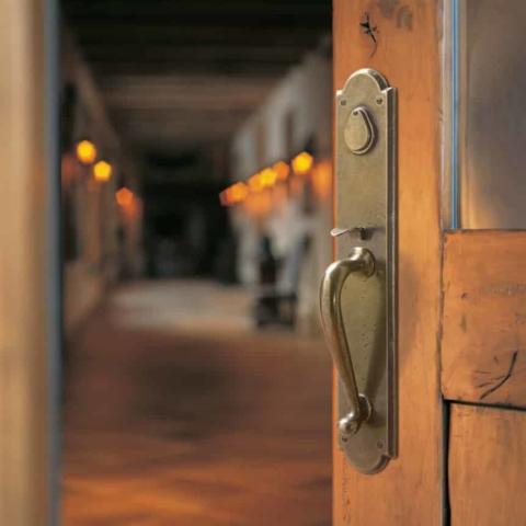 11. Rocky Mountain Entry Door Hardware
