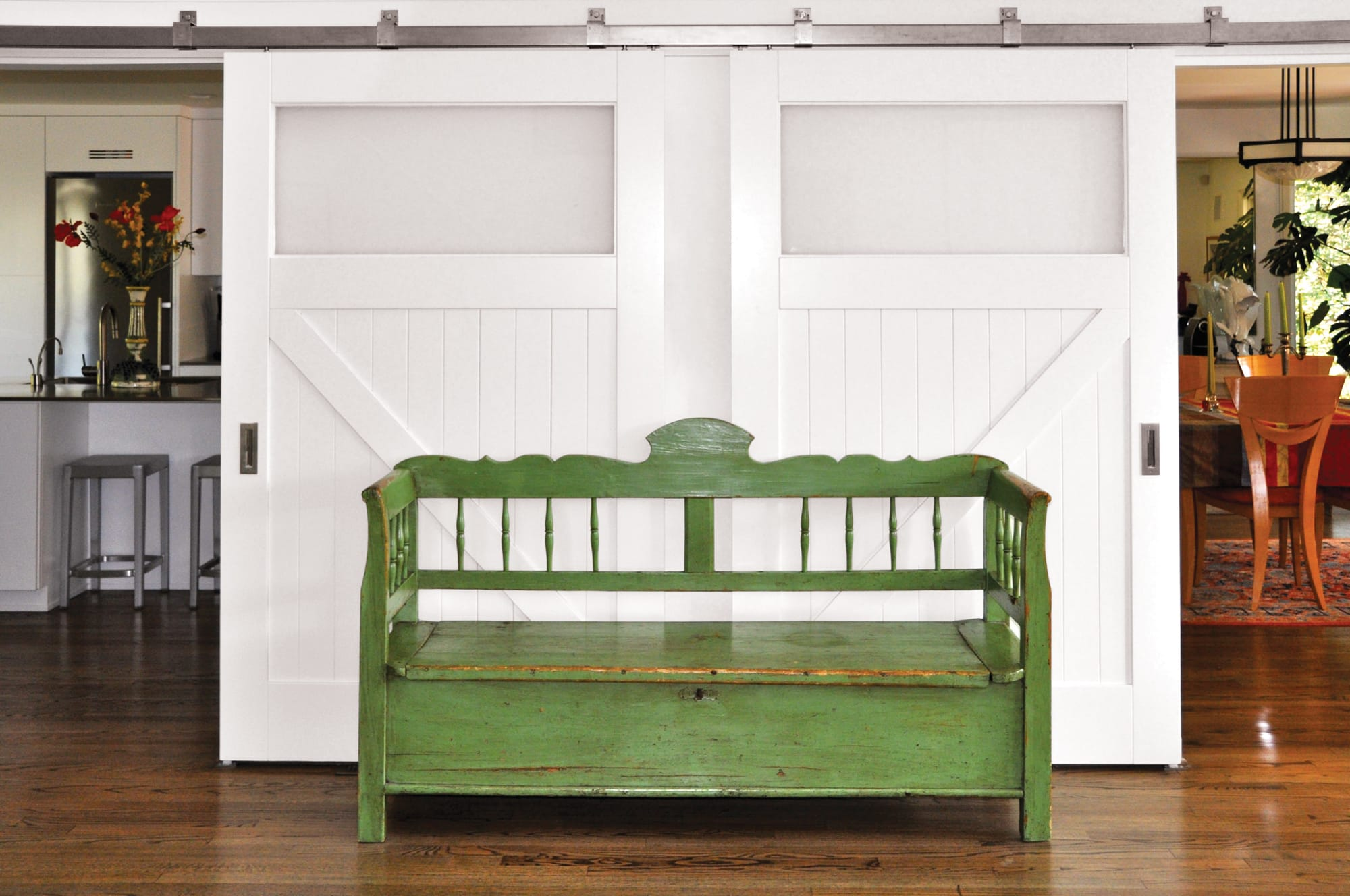 11. Interior Sliding Barn Doors (Classic Z Brace) in Virginia Beach, VA