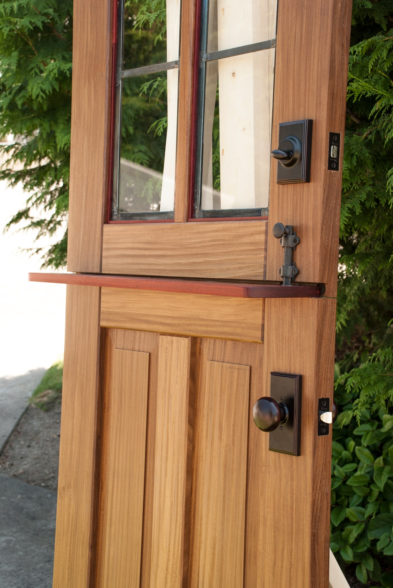 33. Dutch Door Before Installation