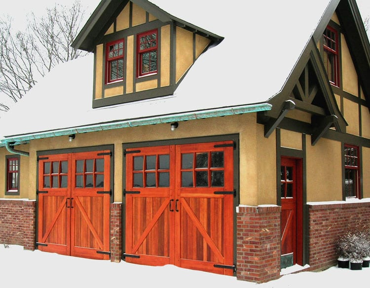 82. Classic Line Carriage Door (CL05) and Dutch Entry Door (ECL04D) in Saint Paul, MN