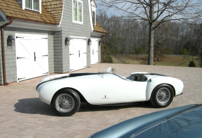 77. Classic British X Brace (CL15B) with a 1953 Ferrari 375 MM