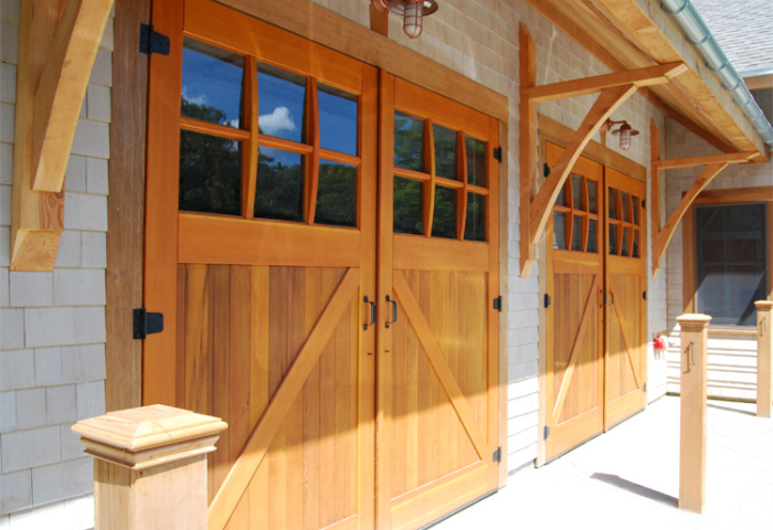 75. Classic Z Brace Carriage Doors (CL05) at Cape Cod Sea Camps in Brewser, MA