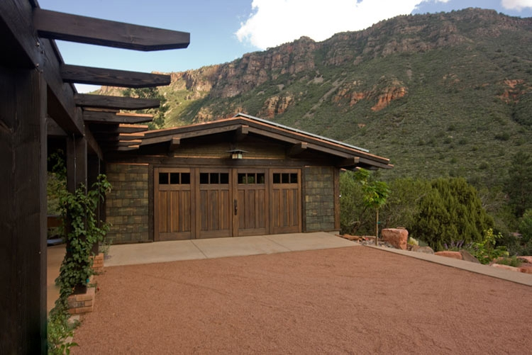 Carriage Doors with Fixed Panels (CTL01) in Sedona, Arizona (AZ)