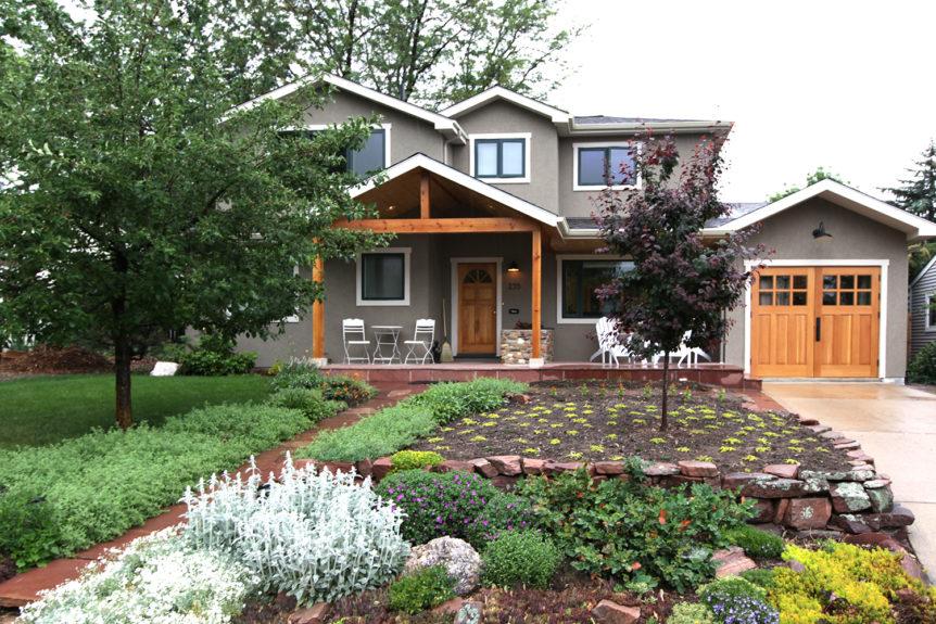 35. CTL05 Design – Square top, (2x3) lites, (2) vertical raised panels, Vertical grain Douglas Fir, w/ butt hinges; Boulder, CO