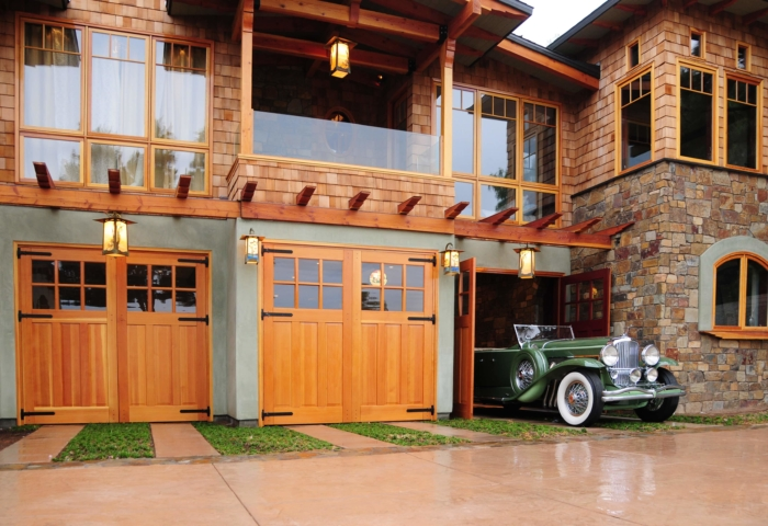 102. Craftsman Traditional Carriage Doors (CTL05) Provide the Perfect Exit for a Classic Car