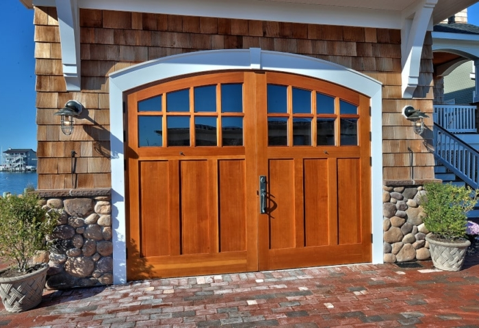108. Real Carriage Doors on a Beachfront Property