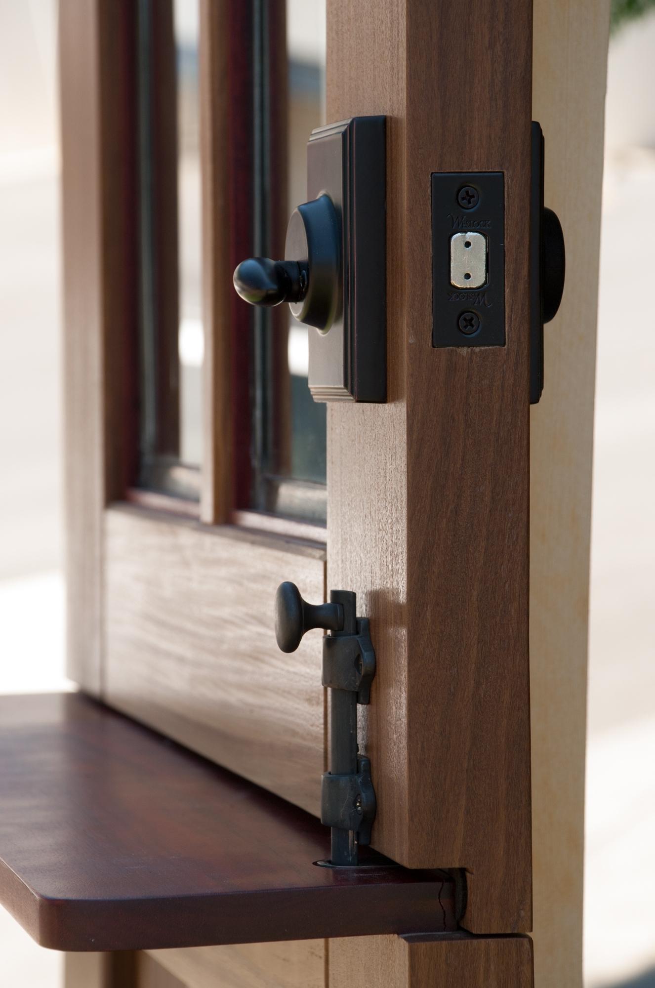 10. Craftsman Dutch Door