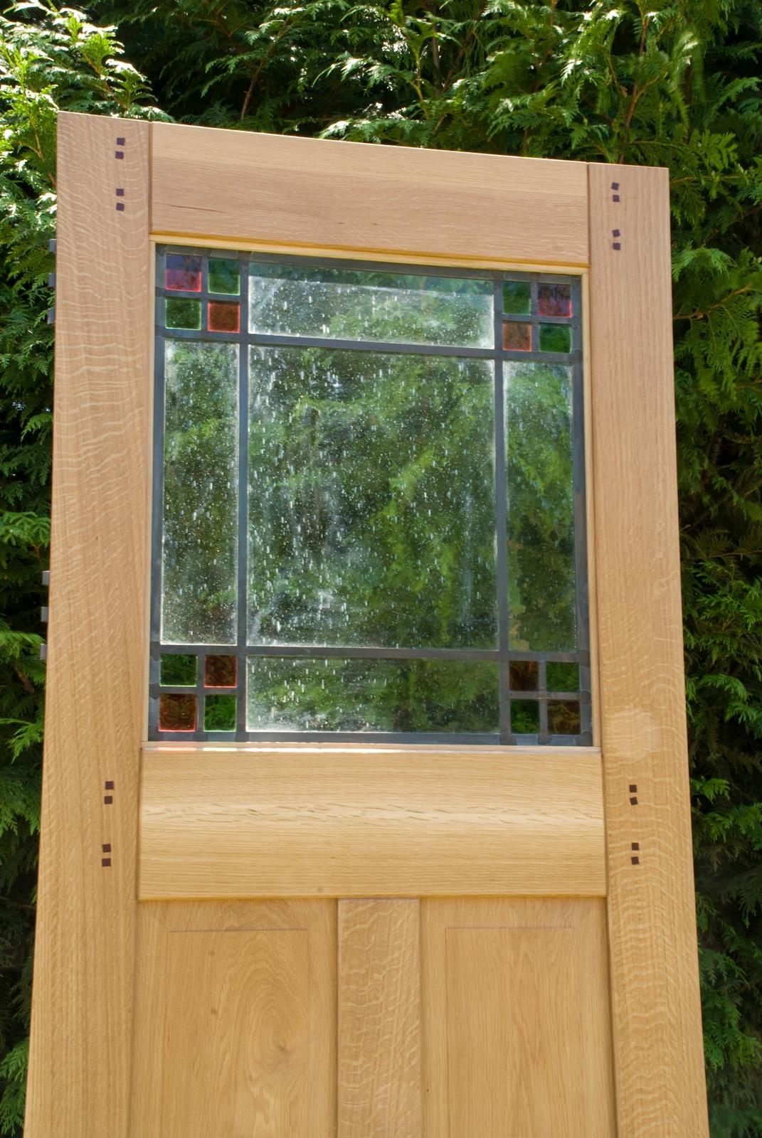 12. Prairie Style Door