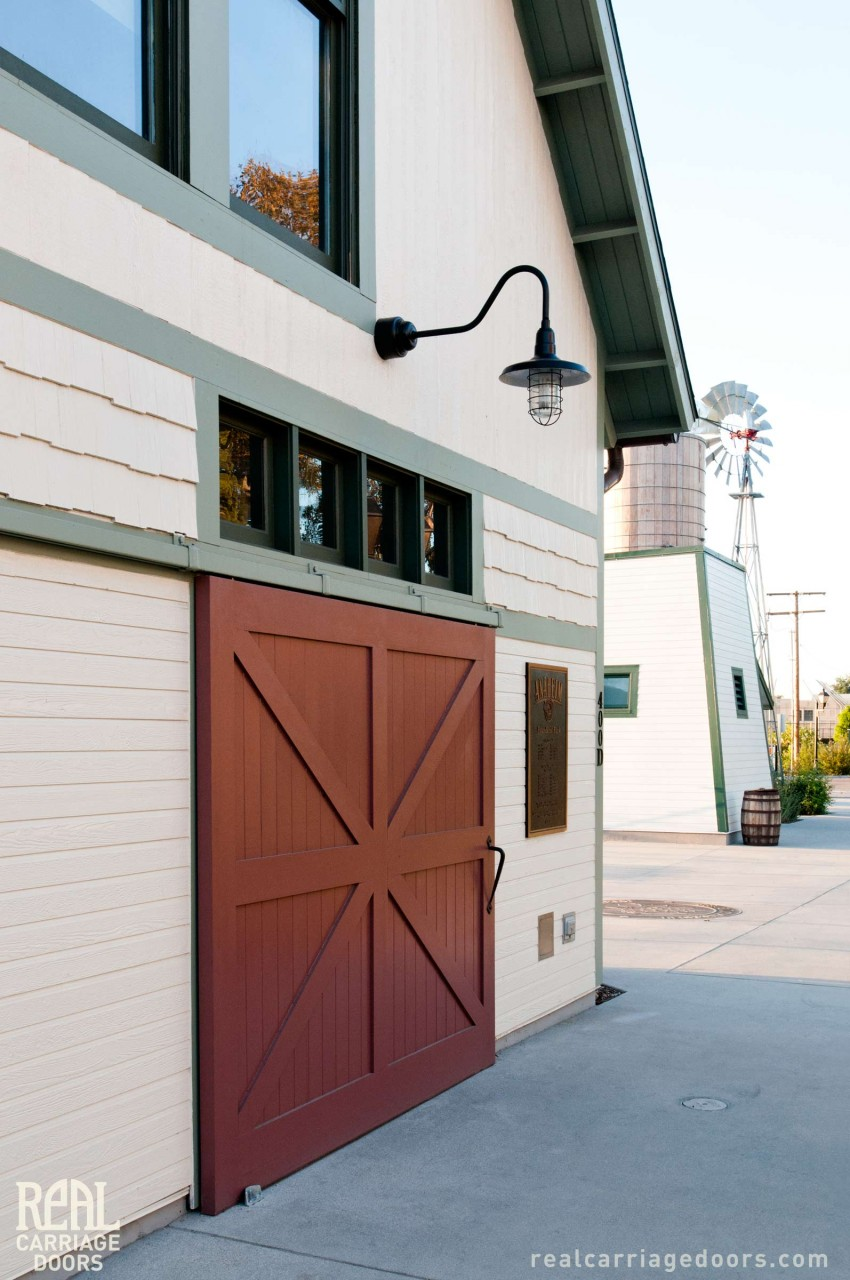 2. Sliding Barn Door on Founders Park Carriage House (CL15B) in Anaheim, CA